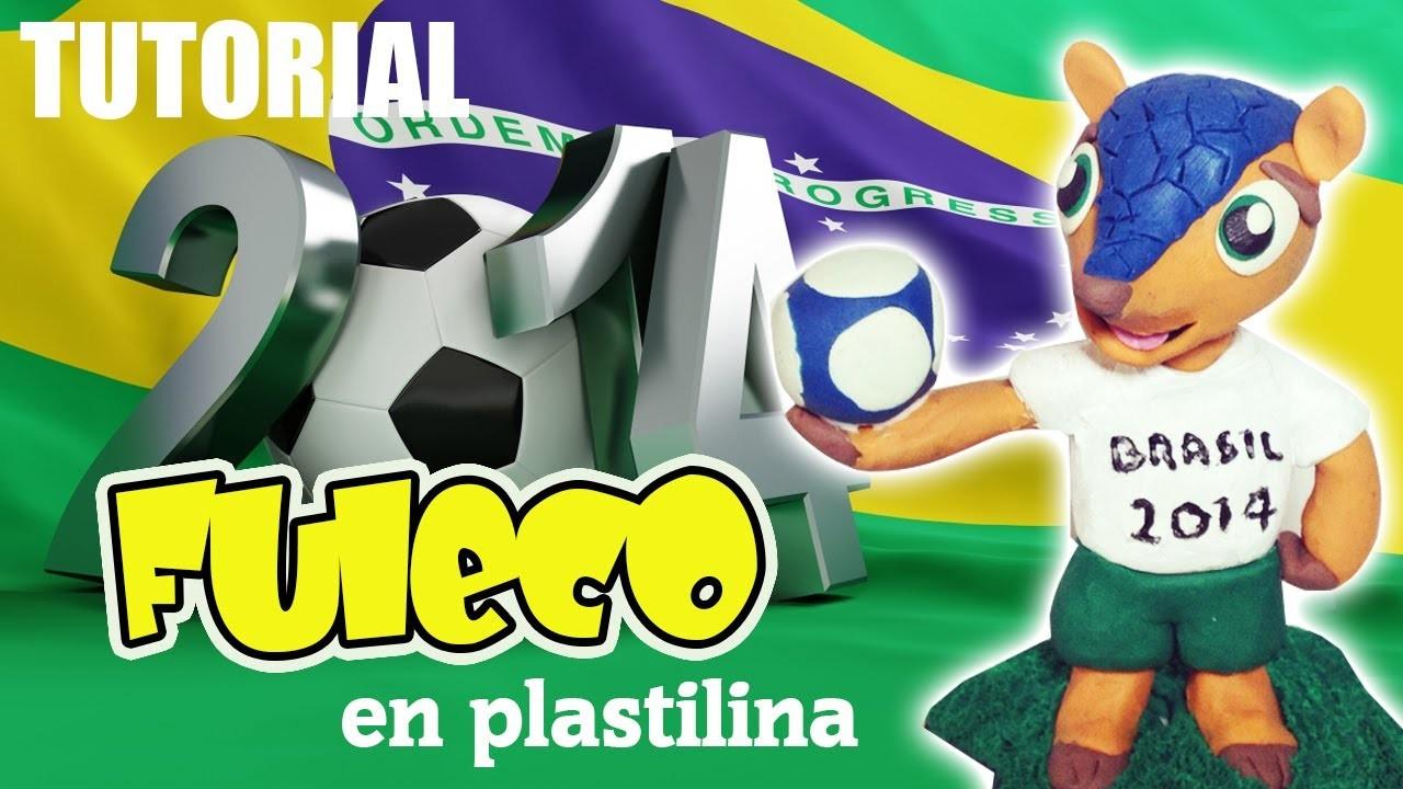 Tutorial Fuleco Brasil 2014 de Plastilina