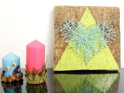Velas decorativas. Ideas para decorar tu habitación - Hablobajito