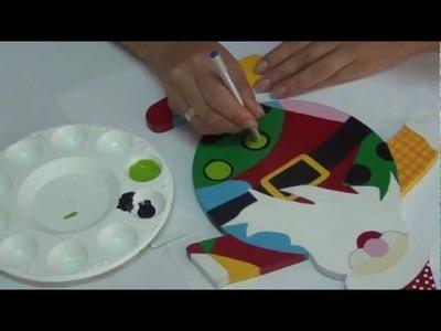Arte y pintura Country Navidad