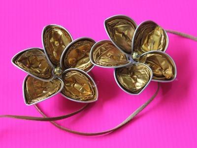 Cómo hacer una Flor con capsulas de Nespresso #2