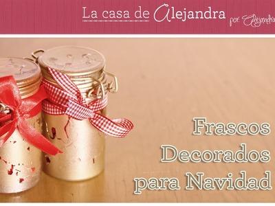 Consiente a tus Amigos con estos Sencillos Frascos Decorados para Navidad DIY Alejandra Coghlan