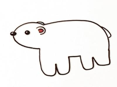 Dibuja un oso - Aprende manualidades para niños