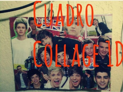 DIY - Cuadro Collage♥ para pared :3 Manualidades de One Direction