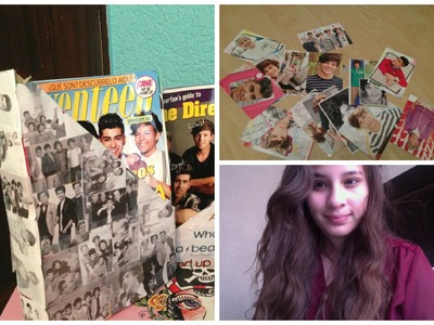 DIY - Decoraciones para tu cuarto de One Direction ♡