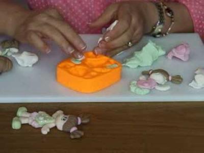 Elaboración de muñeca con molde