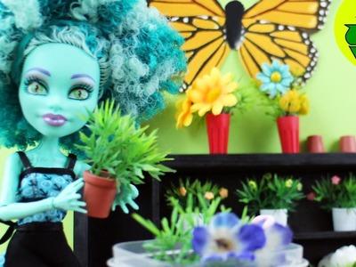 Manualidades para muñecas: Haz plantas en macetas. floreros para muñecas - EP 736