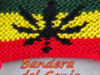 Pulsera de Hilo: Bandera del Ganjah Parte 1
