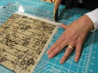 Como cortar las telas para el perfecto patchwork a máquina