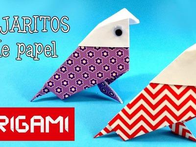Origami: Ave de papel - Papiroflexia