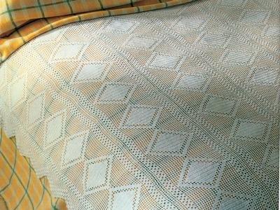 Patrón para tejer colcha escocia a crochet