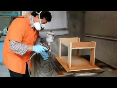 Acabado de un mueble de madera | Preservación, corección de fallas, tinte, acabado.