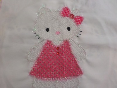 Bordado Fantasia Kitty # 2 Terminada