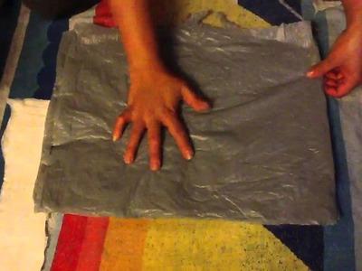 Como Darle otro uso a las bolsas de plastico