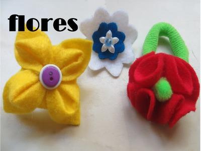 Cómo hacer flores de fieltro
