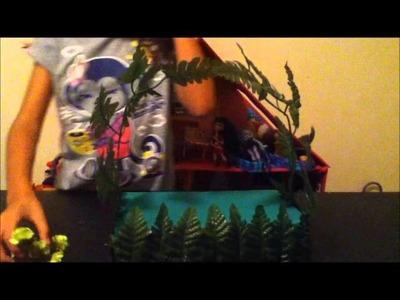 Cómo hacer la cama de Venus McFly de Monster High - Mimundo MH