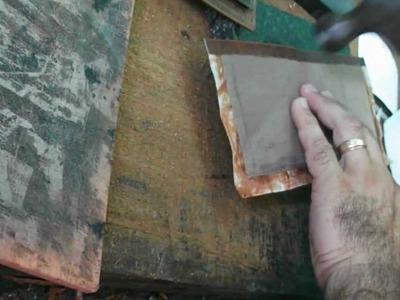 Como hacer una billetera de cuero parte 2