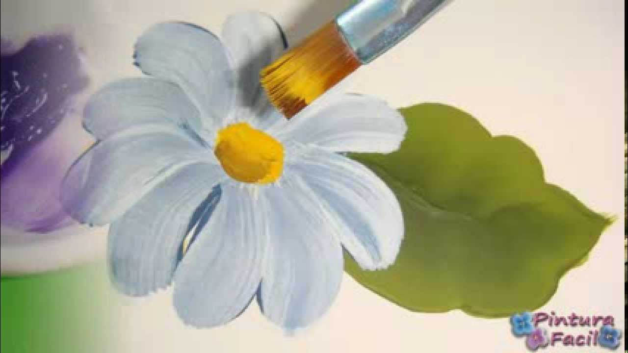 Como Pintar con Doble Carga *One Stroke Painting* Pintura Facil Para Ti