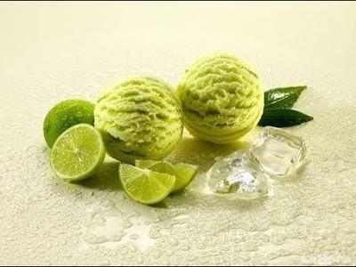 Como preparar nieve de limon casera facil y rapido