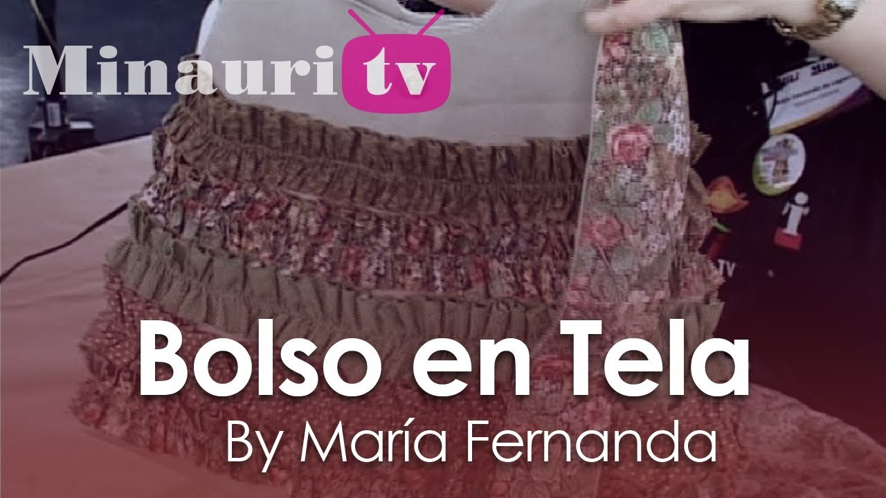 DIY - Bolso en Tela #10 by Minauri ( How to make fabric handbag ) ( sew. purse. wallet. tote )