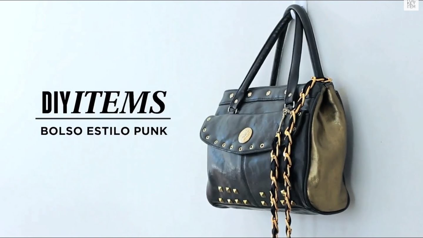 #EvolutionK - DIY Bolso Estilo Punk (Vintage Punk Bag)