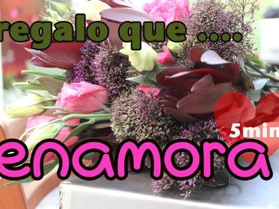 GabyTips.  DIY: Enamora en 5 minutos con este ramo de flores