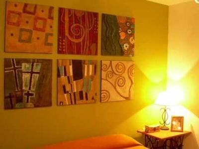Homenaje a Gustav Klimt en mi habitación