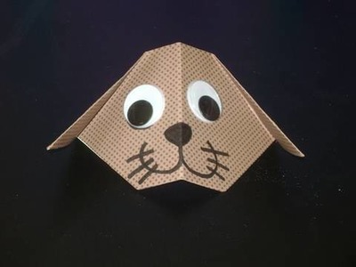 Manu-Gami Manualidades de papel: perrito
