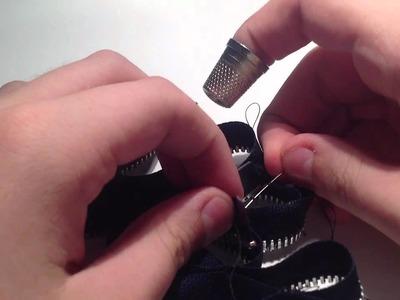 Manualidades: cómo hacer pulseras hechas con cremalleras - hacer tus pulseras con manualidades