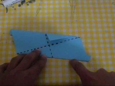 Origami- estrella de 20 picos (1ra parte)