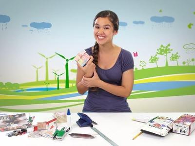 PUCP - Clima de cambios: Haz un monedero reutilizando un tetra pack