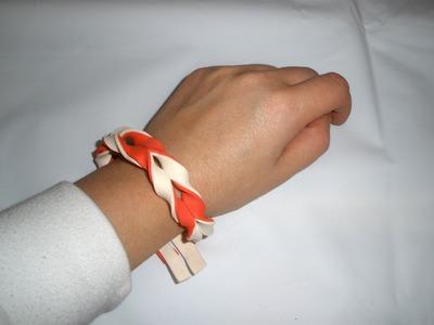 Pulseras goma eva, rápido y fácil. DIY, bracelets