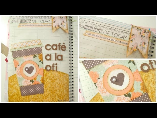 Smash Book Terapia: 03.10.13 *Cómo hacer un diario de Scrap* Smash book tutorial