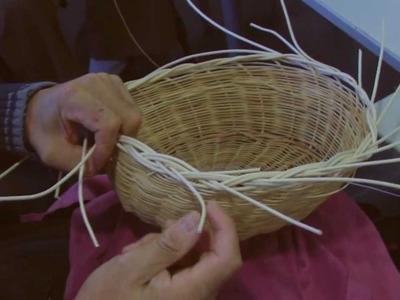 Taller de cestería (fabricación de cestos), parte 2 de 2