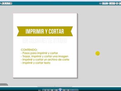Tutorial Imprimir y Cortar con Silhouette (Español)