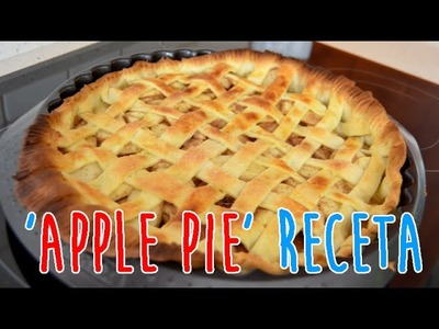 APPLE PIE RECETA (Tarta de Manzana) #INVIAGOSTO