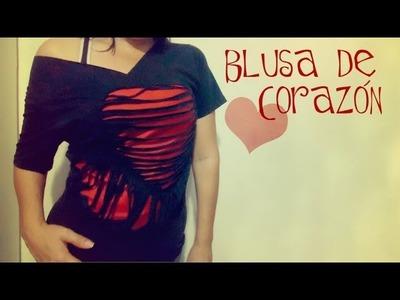 BLUSA DE CORAZÓN [SAN VALENTÍN 2013] ~ MariquisTuts ★