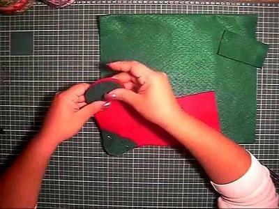 Bota Navideña en Fieltro - Manualidades Navidad
