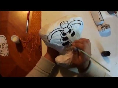 Calaverita de papel mache