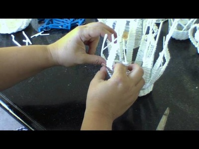 Candeleros tejidos originales. Parte 2.