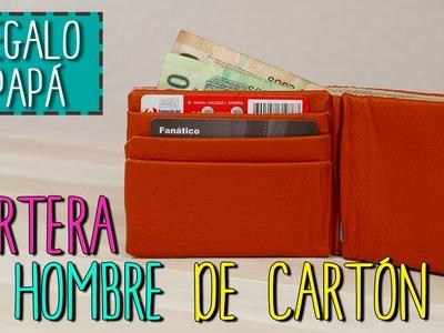 Cartera Para Hombre Reciclada - Cartera De Cartón - Cómo hacer Billetera