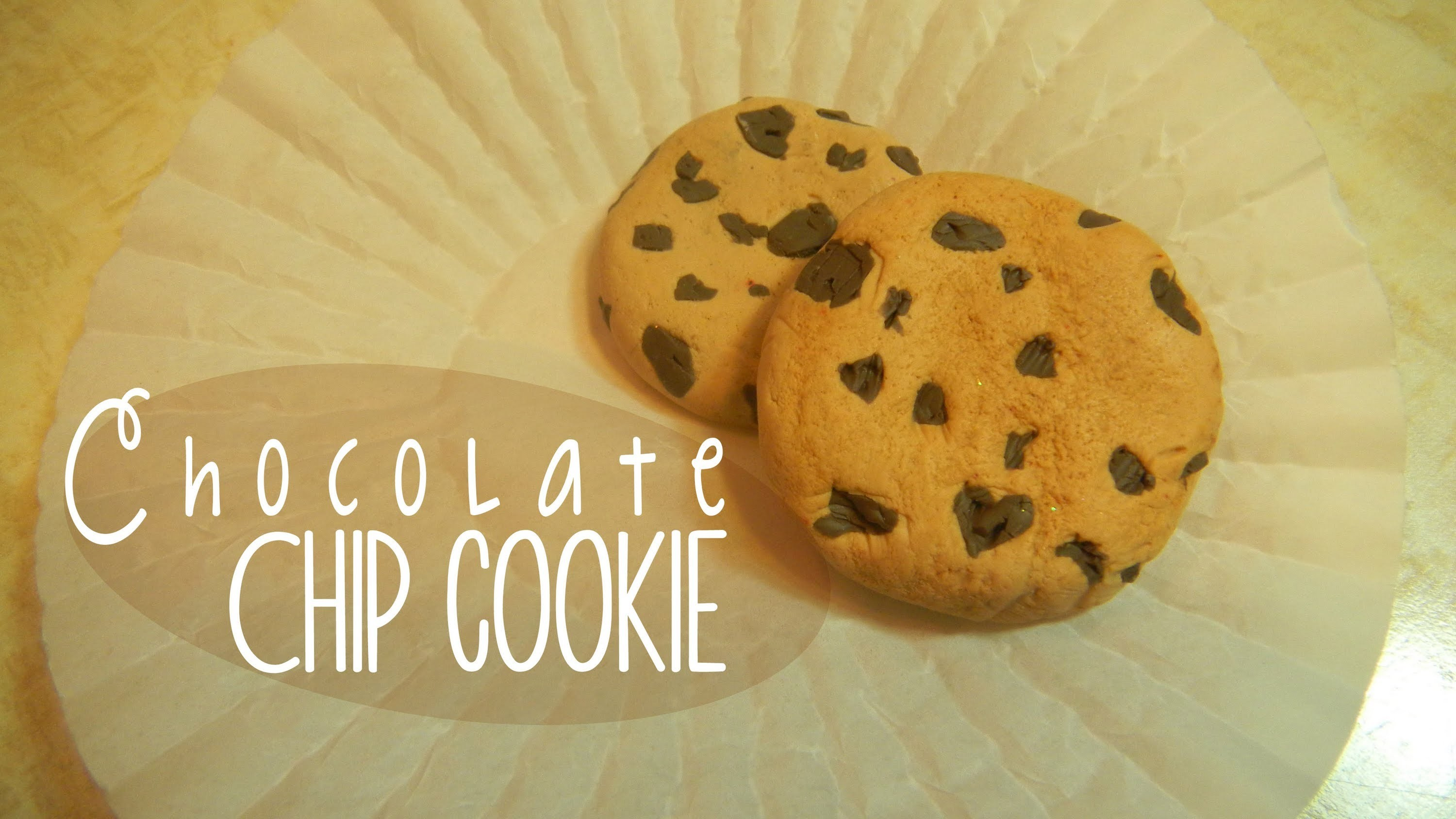 Chocolate Chip Cookie (Tutorial.Arcilla Polimerica)