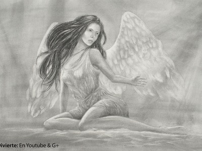 Cómo dibujar un ángel con nuestra invitada Domerelly- Arte Divierte.