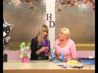 Como hacer flores con  globos  - Centros de mesa - Decoracion con globos