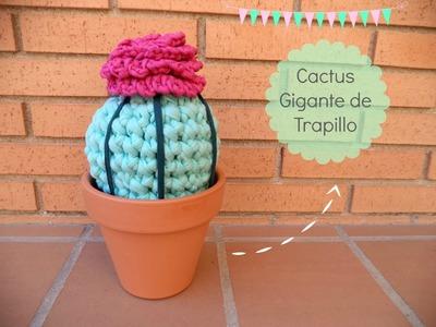 Cómo hacer un Cactus de Trapillo - Tutorial paso a paso