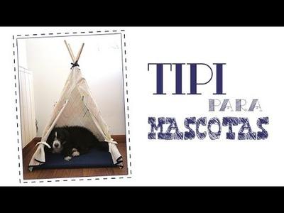 Cómo hacer un tipi indio para mascotas