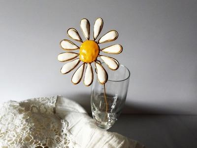 Cómo hacer una flor de margarita  | facilisimo.com