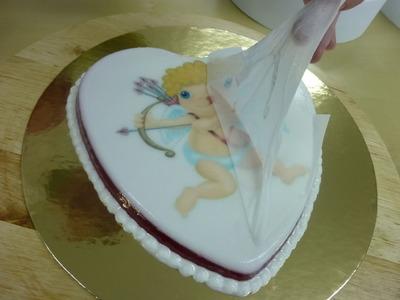 Cómo hacer una gelatina con un dibujo. Transfer de gelatina con papel de arroz