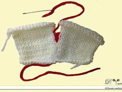 Cómo unir dos tejidos,costura invisible