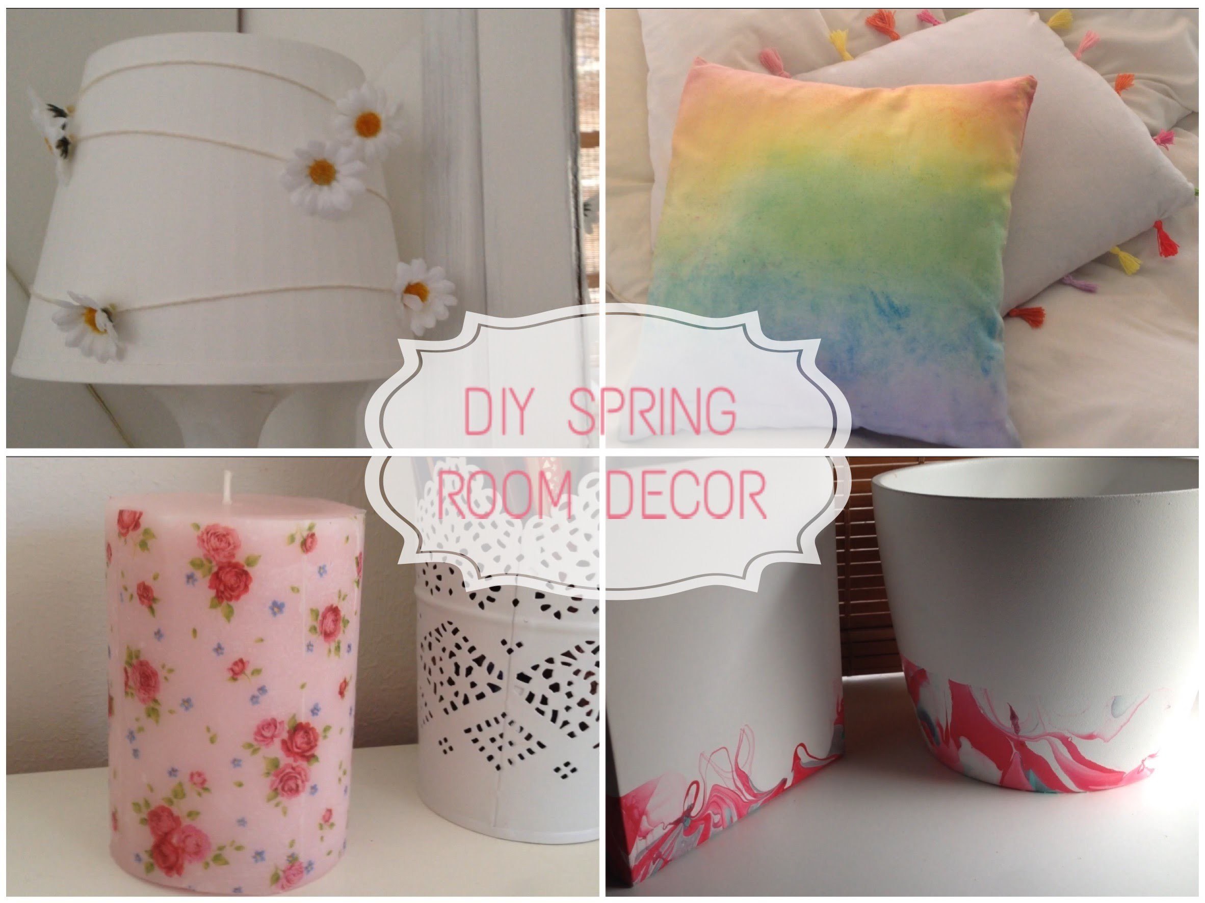 DIY: Decora tu cuarto. Spring Room Decor