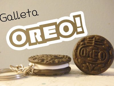 "Galleta Oreo + Galletita ""Normal?"" (Tutorial.Arcilla Polimerica)"